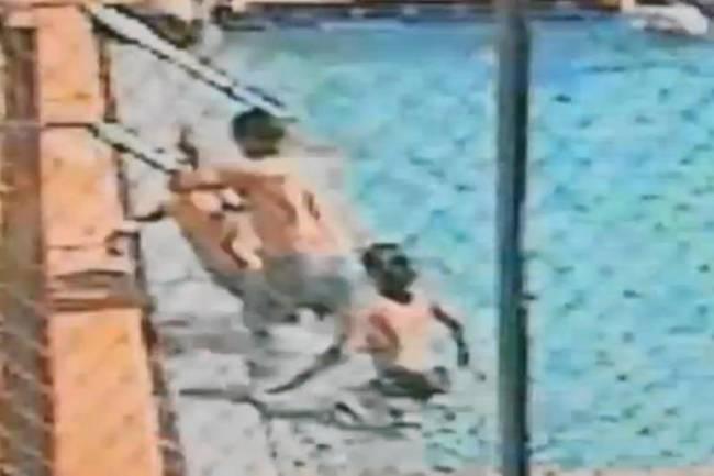 Κάμερες ασφαλείας κατέγραψαν ηλεκτροπληξία παιδιών σε πισίνα