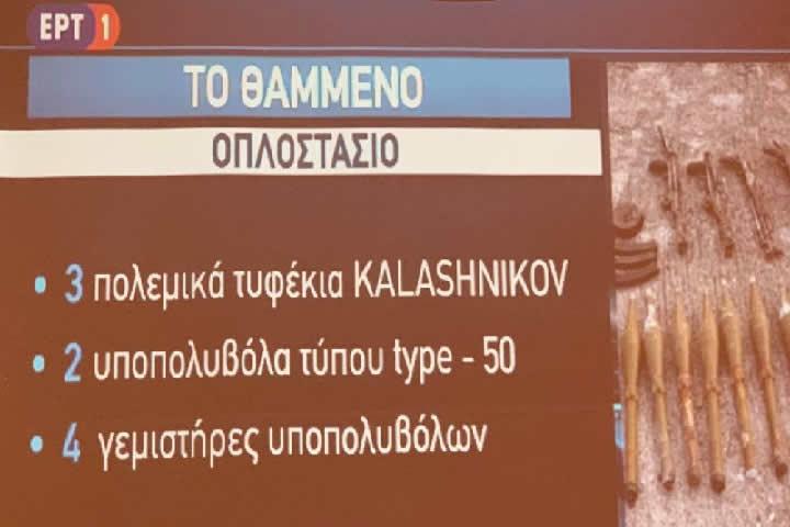 Όπλα στην Καστοριά ικανά για πολεμικές επιχειρήσεις